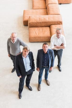 Jef, Eric, Peter & Luc